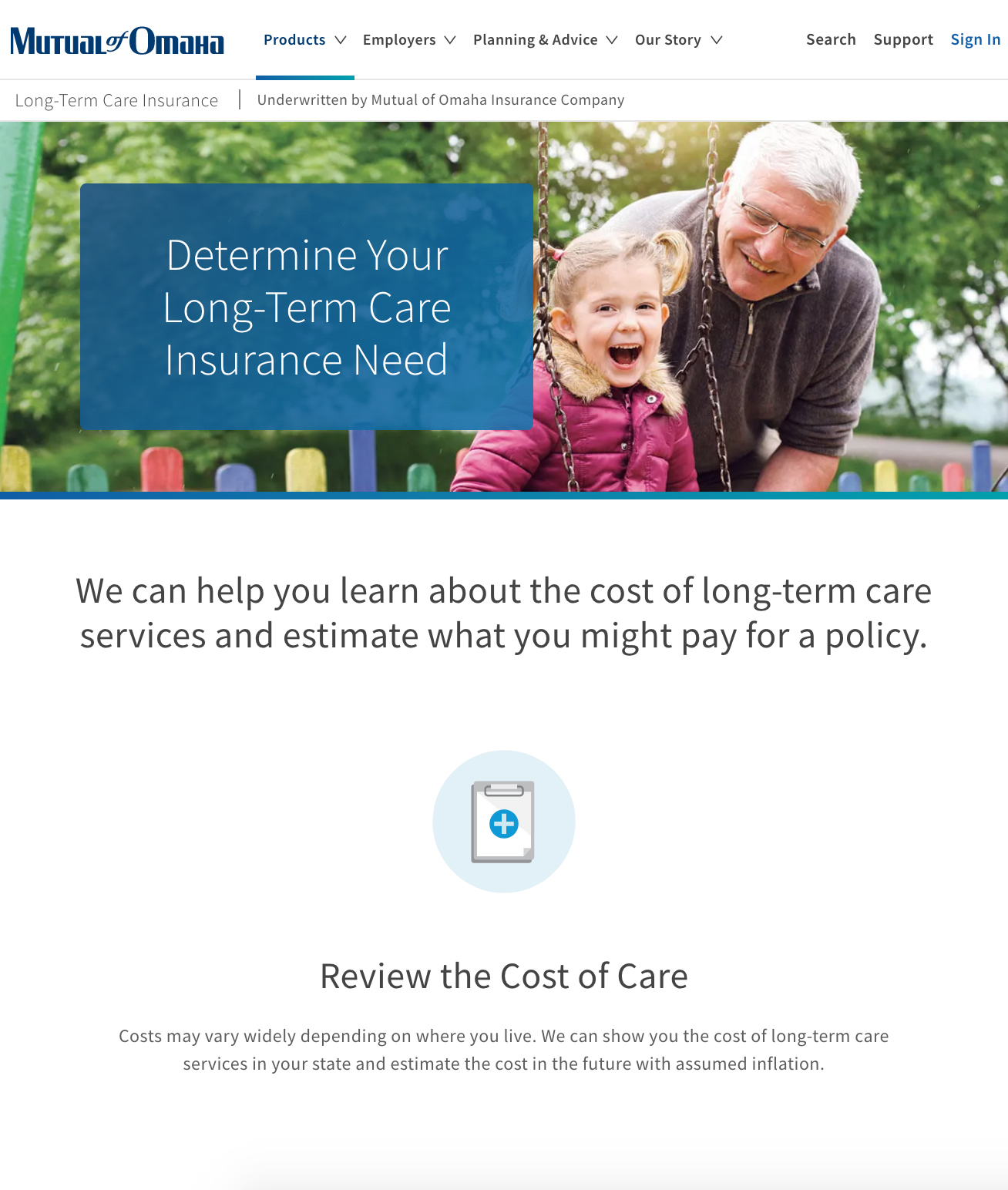 Cost of Care Thumbnail